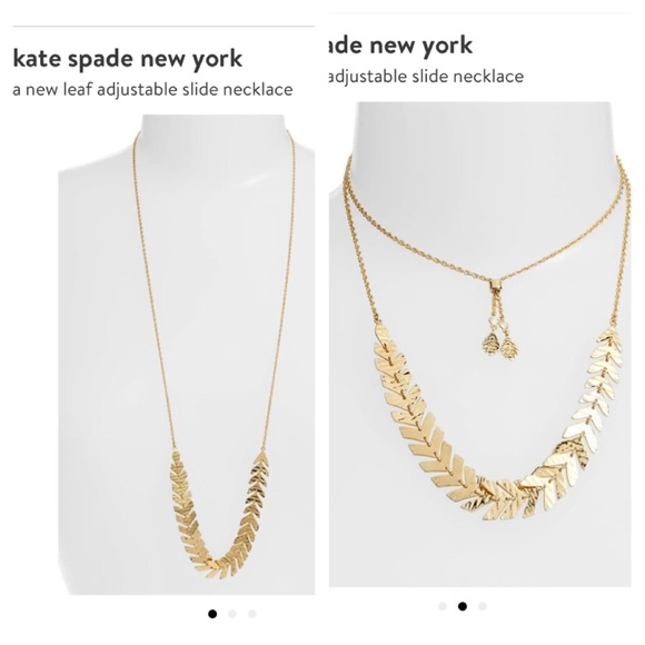 kate spade Jewelry - NWT Kate Spade Adjustable slide necklace